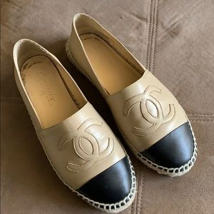Chanel Lambskin Espadrilles